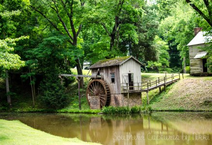 water wheel from a distance